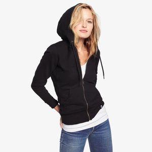 American Giant classic full zip hoodie sweatshirt embroidered black small